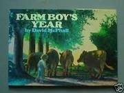 FARM BOY'S YEAR by David McPhail