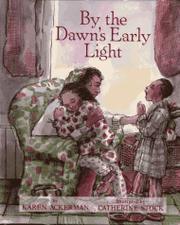 Book Cover for BY THE DAWN'S EARLY LIGHT