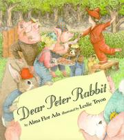 Book Cover for DEAR PETER RABBIT