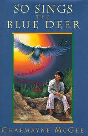 Book Cover for SO SINGS THE BLUE DEER