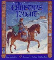 Cover art for THE CHRISTMAS KNIGHT