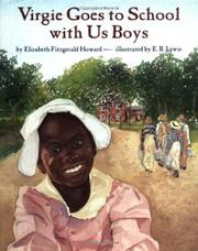 VIRGIE GOES TO SCHOOL WITH US BOYS by Elizabeth Fitzgerald Howard