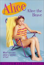 Cover art for ALICE THE BRAVE
