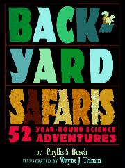 Book Cover for BACKYARD SAFARIS