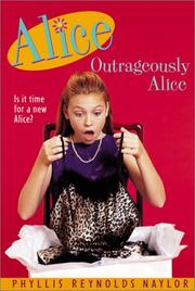 Book Cover for OUTRAGEOUSLY ALICE
