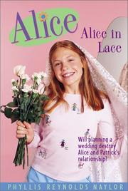 Cover art for ALICE IN LACE