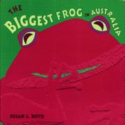 Cover art for THE BIGGEST FROG IN AUSTRALIA