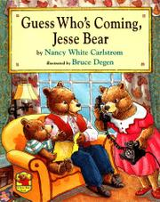 Book Cover for GUESS WHO'S COMING, JESSE BEAR