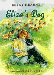 ELIZA'S DOG by Betsy Hearne