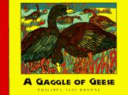 Cover art for A GAGGLE OF GEESE