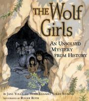 THE WOLF GIRLS by Jane Yolen