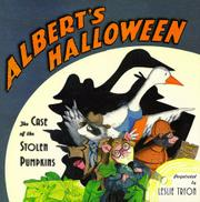 ALBERT'S HALLOWEEN by Leslie Tryon
