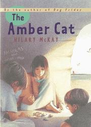 Cover art for THE AMBER CAT