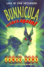 Cover art for BUNNICULA STRIKES AGAIN!