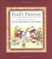 Book Cover for PEARL'S PASSOVER
