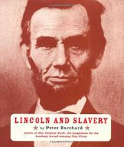 Cover art for LINCOLN AND SLAVERY