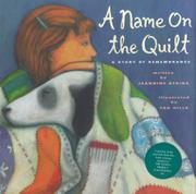 A NAME ON THE QUILT by Jeannine Atkins