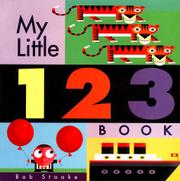 Cover art for MY LITTLE 123 BOOK