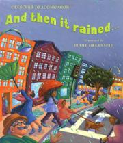 Book Cover for AND THEN IT RAINED...