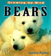 Book Cover for GROWING UP WILD: BEARS