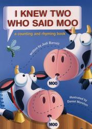 Book Cover for I KNEW TWO WHO SAID MOO