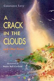 A CRACK IN THE CLOUDS by Constance Levy