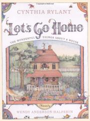LET'S GO HOME by Cynthia Rylant