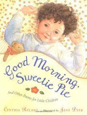 GOOD MORNING, SWEETIE PIE by Cynthia Rylant