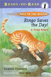 Book Cover for RINGO SAVES THE DAY!