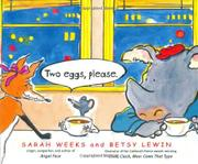 TWO EGGS, PLEASE. by Sarah Weeks