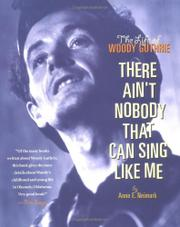 THERE AIN'T NOBODY THAT CAN SING LIKE ME by Anne E. Neimark