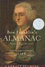 BEN FRANKLIN'S ALMANAC by Candace Fleming