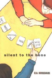 Cover art for SILENT TO THE BONE