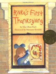 Cover art for RIVKA'S FIRST THANKSGIVING