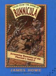 TALES FROM THE HOUSE OF BUNNICULA #4 by James Howe