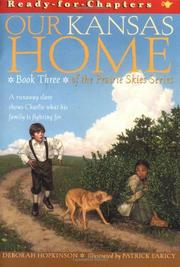 OUR KANSAS HOME by Deborah Hopkinson