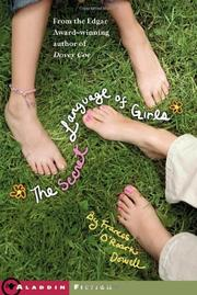 Cover art for THE SECRET LANGUAGE OF GIRLS
