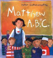MATTHEW A.B.C. by Peter Catalanotto