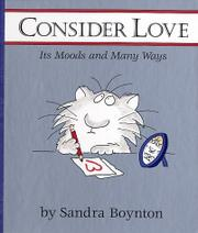 Cover art for CONSIDER LOVE