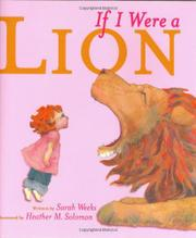 Book Cover for IF I WERE A LION