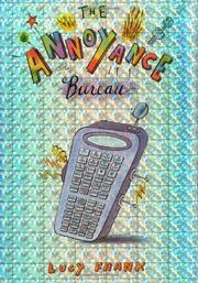 Cover art for THE ANNOYANCE BUREAU