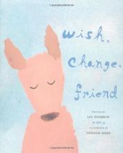 Book Cover for WISH, CHANGE, FRIEND