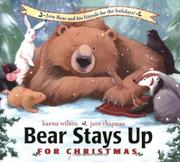Cover art for BEAR STAYS UP FOR CHRISTMAS