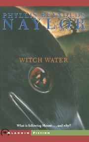 WITCH WATER by Phyllis Reynolds Naylor