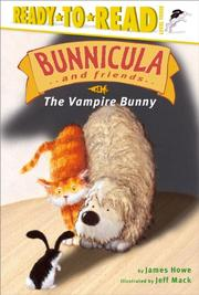 Cover art for BUNNICULA AND FRIENDS