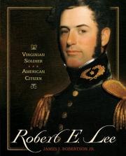 ROBERT E. LEE by Jr. Robertson