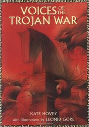 Cover art for VOICES OF THE TROJAN WAR