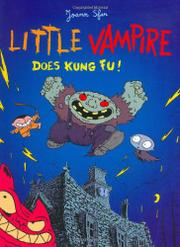 LITTLE VAMPIRE DOES KUNG FU! by Joann Sfar