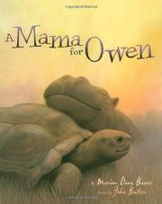 Book Cover for A MAMA FOR OWEN
