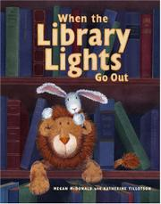 Cover art for WHEN THE LIBRARY LIGHTS GO OUT